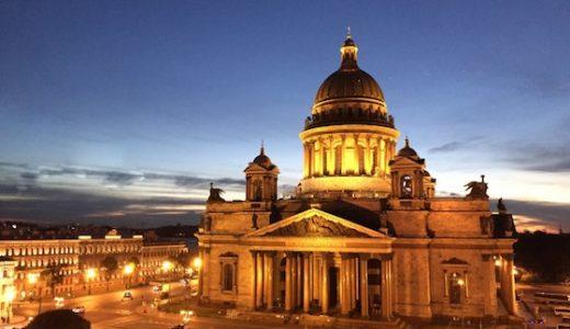 ロシア・サンクトペテルブルクの観光スポット:パリにも負けない華やかさ