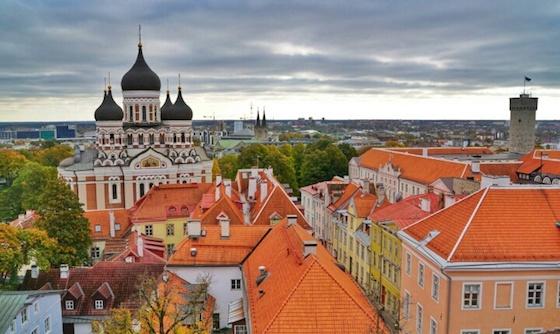 エストニア共和国・タリンの観光スポット: かわいい北欧の町で雑貨漁り!