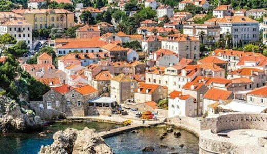クロアチア・ドブロブニクの観光スポット:魔女の宅急便の舞台でマグロを食べまくる?!