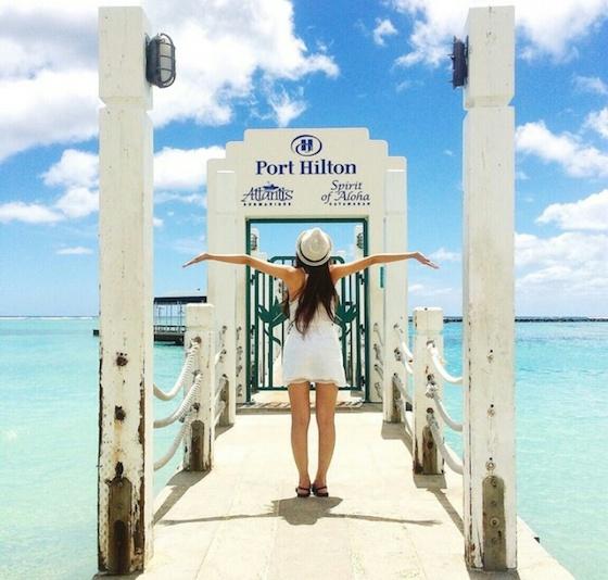アメリカハワイのおしゃれ観光スポット:海で泳いで空を飛んで
