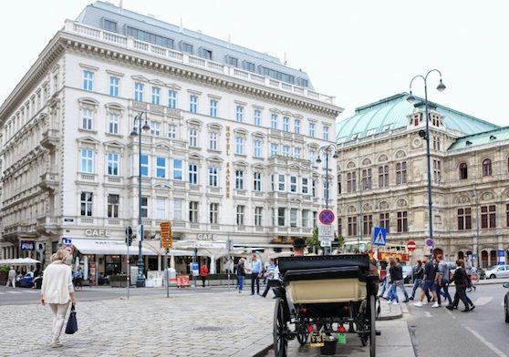 オーストリア·ウィーンのおしゃれ観光スポット: 大人の遊び心がある街