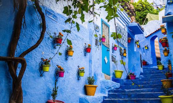 モロッコのおしゃれ観光スポット:エキゾチックな町で色彩に感動する