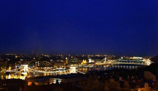 ハンガリー・ブダペストのおしゃれ観光スポット:世界一の夜景と童話みたいな町並み